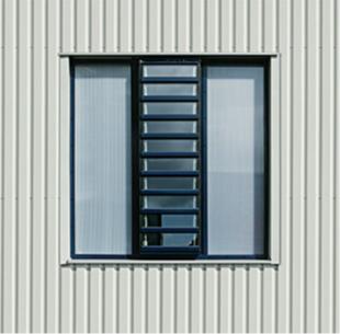 Fassadenlichtband